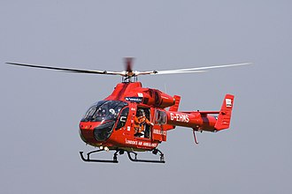 London's Air Ambulance - G-EHMS, the first MD 902