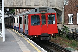 London Underground D Stock 7051 on District Line, Acton Town (18042492952)