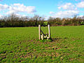 Lonely Stile near Rock Harbour Farm - geograph.org.uk - 352492.jpg