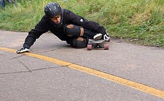 Longboarding - Example of longboarding