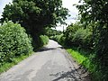 Looking E along Water Lane from the entrance to Tubslake Farm - geograph.org.uk - 883417.jpg