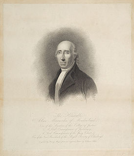 Alexander Maconochie, Lord Meadowbank Advocate, judge, landowner and politician