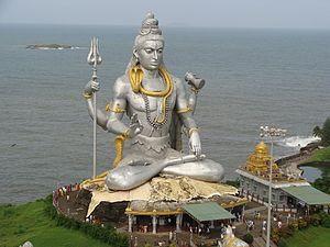 Murti - Image: Lord Shiva Statue at Murdeshwara