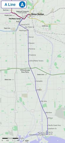 Blue Line Los Angeles Metro  Wikipedia