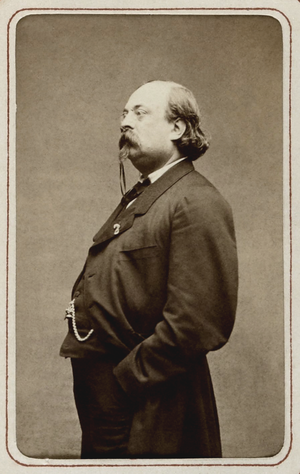 Louis Bouilhet - Louis Bouilhet by Étienne Carjat, in 1864