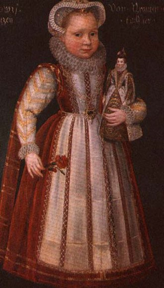 Countess Louise Juliana of Nassau - Louise Juliana as a girl