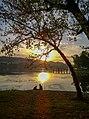 Lovers at sunset - Artificial Lake, Tirana, Albania.jpg