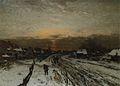 Ludwig Munthe - Vinterlandskap med solnedgang.jpg