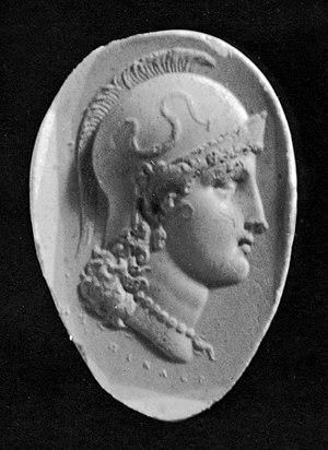Luigi Pichler - Intaglio of the Head of Athena, Walters Art Museum