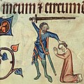 Luttrell Psalter. Execution of Thomas Lancaster.jpg