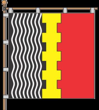 Lutuhyne - Image: Lutugino flag