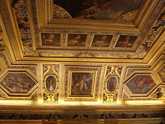 Luxembourg Palace - Ceiling of the Salle du Livre d'Or