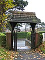 Lych Gate at St Deiniol's Hawarden - geograph.org.uk - 280252.jpg