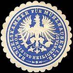 Mühlhausen, Siegelmarke, Handelskammer.jpg