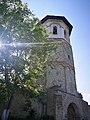 Mănăstirea Dobrovăț vedere turn clopotnita.jpg