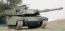 M60-2000/120s modernizacja stworzona przez General Dynamics Land Systems.