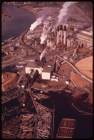 Port Alberni Mill - The mill in 1970