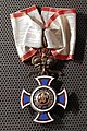 ME Commander's Cross of the Order of Danilo I of Montenegro.jpg