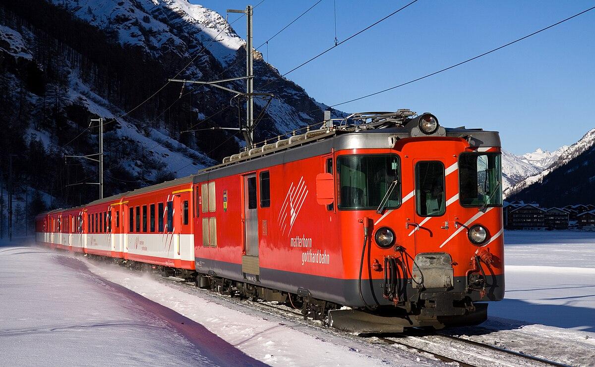 Brig Visp Zermatt Bahn Deh 4 4 Wikipedia