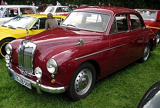 MG Magnette - Image: MHV MG ZB 1958 01