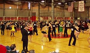 Latin dancing (intermediate) at the 2006 MIT B...