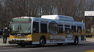 Route 40 (MTA Maryland) - Image: MTA Maryland 6005 40