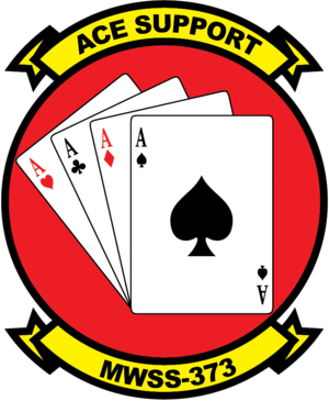 Marine Wing Support Squadron 373 - MWSS-373 insignia