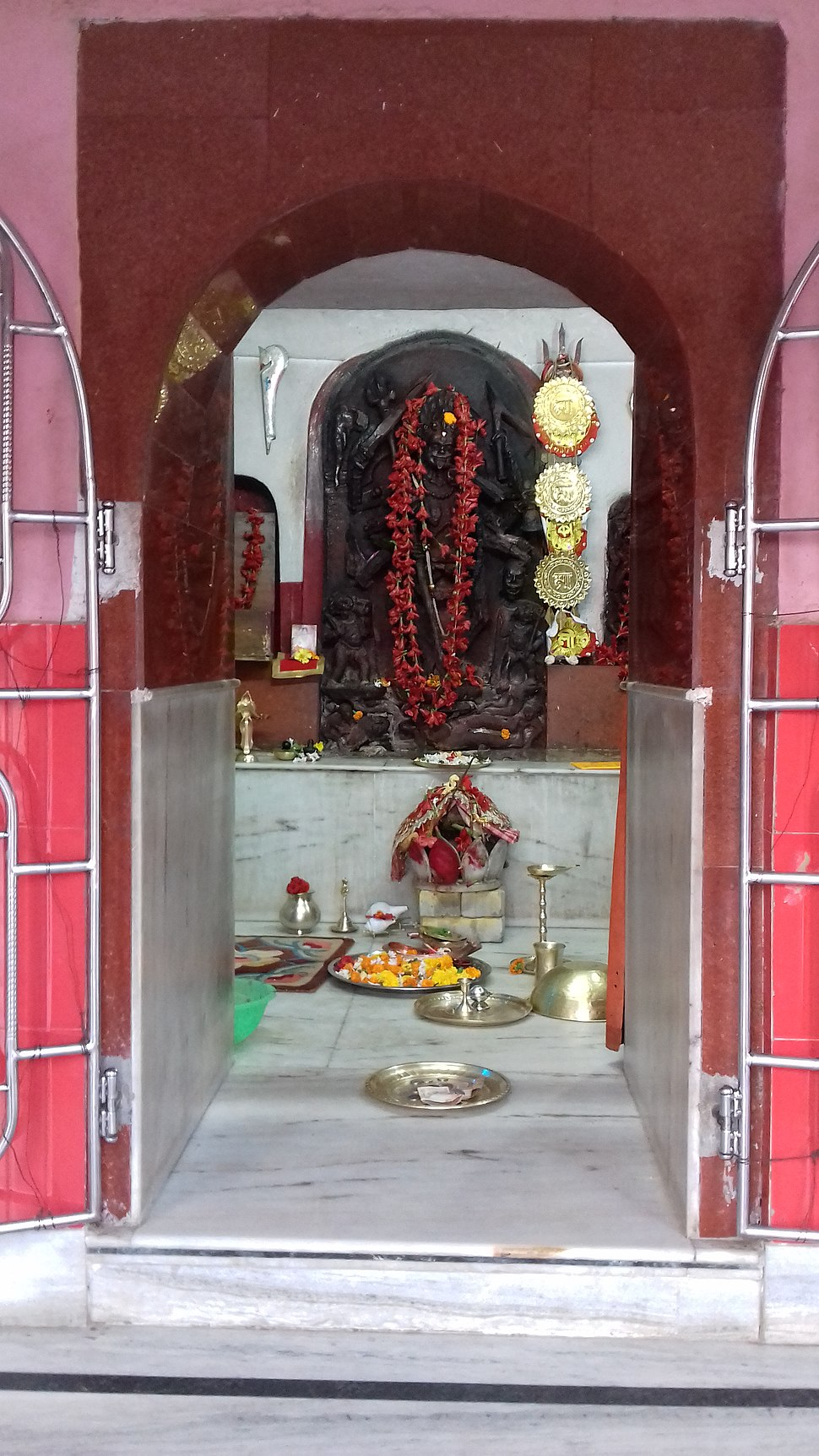Maa Kankaleshwari at her temple
