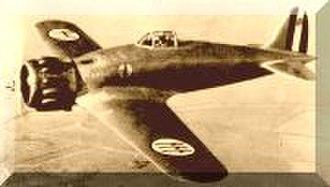 Macchi C.200 - C.200 in flight