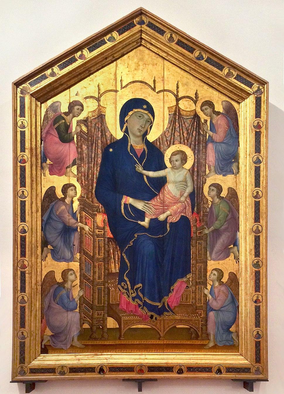 Madonna em Majestade dita Rucellai - Duccio
