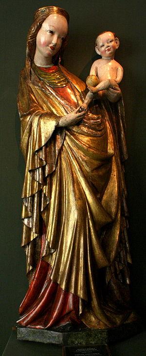 Beautiful Virgin Mary from Krużlowa - Beautiful Madonna from Krużlowa