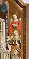 Maestro di Figline, maestà tra i ss. elisabetta d'ungheria, ludovico di tolosa e angeli, post 1317, 07.jpg