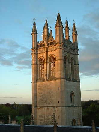 Magdalen Tower - Magdalen Tower, as seen from the nearby Founders Tower
