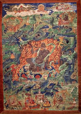 Mahākāla - Mahakala in the Form of a Brahman