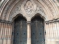 Main Door, Thomas Coates Memorial Church, Paisley, Renfrewshire. - panoramio.jpg