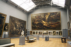 Antoine Wiertz - Main hall of The Wiertz Museum, Brussels.