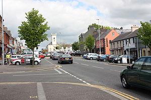 Castlewellan - Main Street, Castlewellan, May 2010
