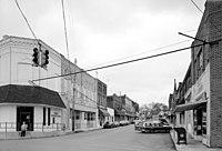 Main Street Cordova Alabama Spring 1993, HAER AL-944.jpg