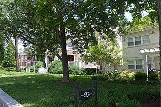 Bell Court, Lexington - Main Street east of Forest Street