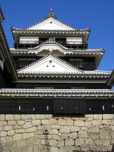 Main tower of Matsuyama castle(Iyo)2.JPG