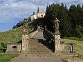 Malá Lhota (obec) Lhoty u Potštejna - poutní kostel Panny Marie bolestné na Homoli (2).jpg