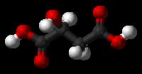malic acid - wikipedia, Skeleton