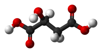 Malic acid - Image: Malic acid 3D balls