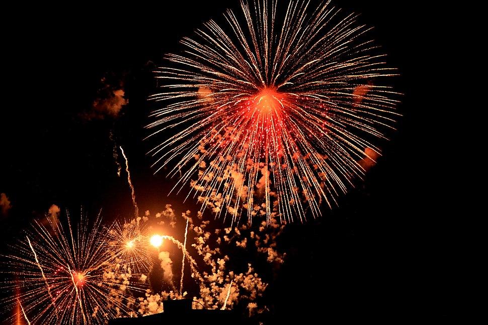 Malta - St. Paul's Bay - Malta International Fireworks Festival 09 ies