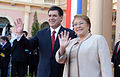 Mandataria es recibida por el Presidente de la República de Paraguay (20736282056).jpg
