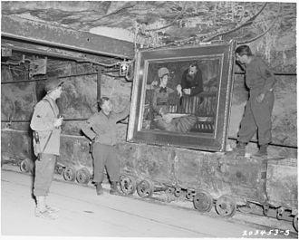 Merkers Adventure Mines - Image: Manet's Wintergarden 19450425 NARA 5757184