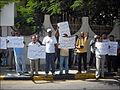 Manifestation en libye pour réclamer la famille du kadhafi.jpg