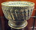 Manises, bacile con piede e lustro metallico, 1500-1525 ca. 04.JPG