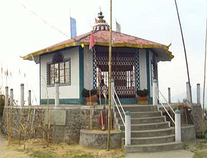 Rai people - Mankhim (temple) of Khambu (Rai) at Aritar, Sikkim