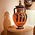 Manner of the Antimenes Painter - ABV 278 31 - gods - Theseus killing the Minotaur - Erlangen AS M 61 - 01.jpg